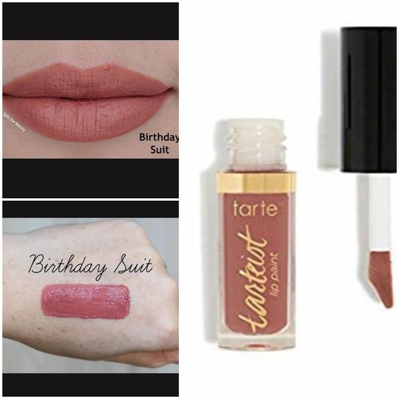 tarte lip paint birthday suit tarte Makeup | Ist Quick Dry Matte Lip Paint Birthday Suit | Poshmark tarte lip paint birthday suit
